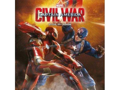 Marvel Kapitan Ameryka - kalendarz 2017