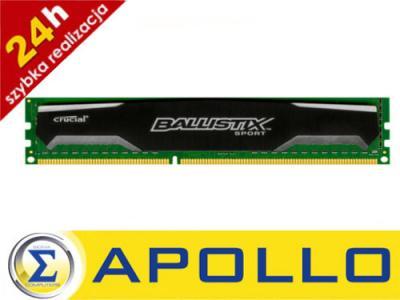 Pamięć RAM DDR3 CRUCIAL Ballistix 8GB 1600MHz FV