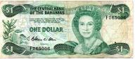 Bahamy 1 Dollar 1984 P-43a
