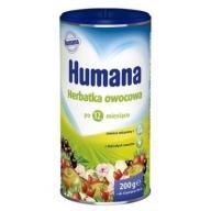 HUMANA Herbatka owocowa 200g 12m+