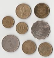 Zestaw monet HONG KONG 1979 - 1998