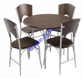 Zestaw Stół4 Krzesła Thyholm Jysk Meble Kuchenne