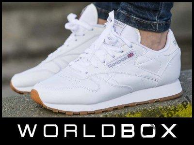 Reebok Classic Leather WhiteGum w Sportowe buty damskie