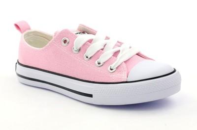 01618a1a759b8 Klasyczne różowe trampki tenisówki American r.36 - 6806599180 ...