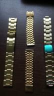 trzy bransolety do zegarka