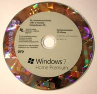 Windows 7 Home Premium 32 bit nośnik
