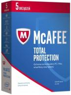 McAfee 2017 Total Protection PL 5 PC 1 ROK FVAT
