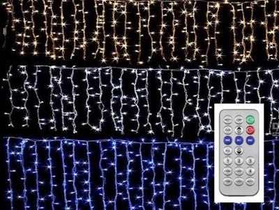 Sople LED 500 ZEWNĘTRZNE + NA PILOT LAMPKI 18m   6594066896