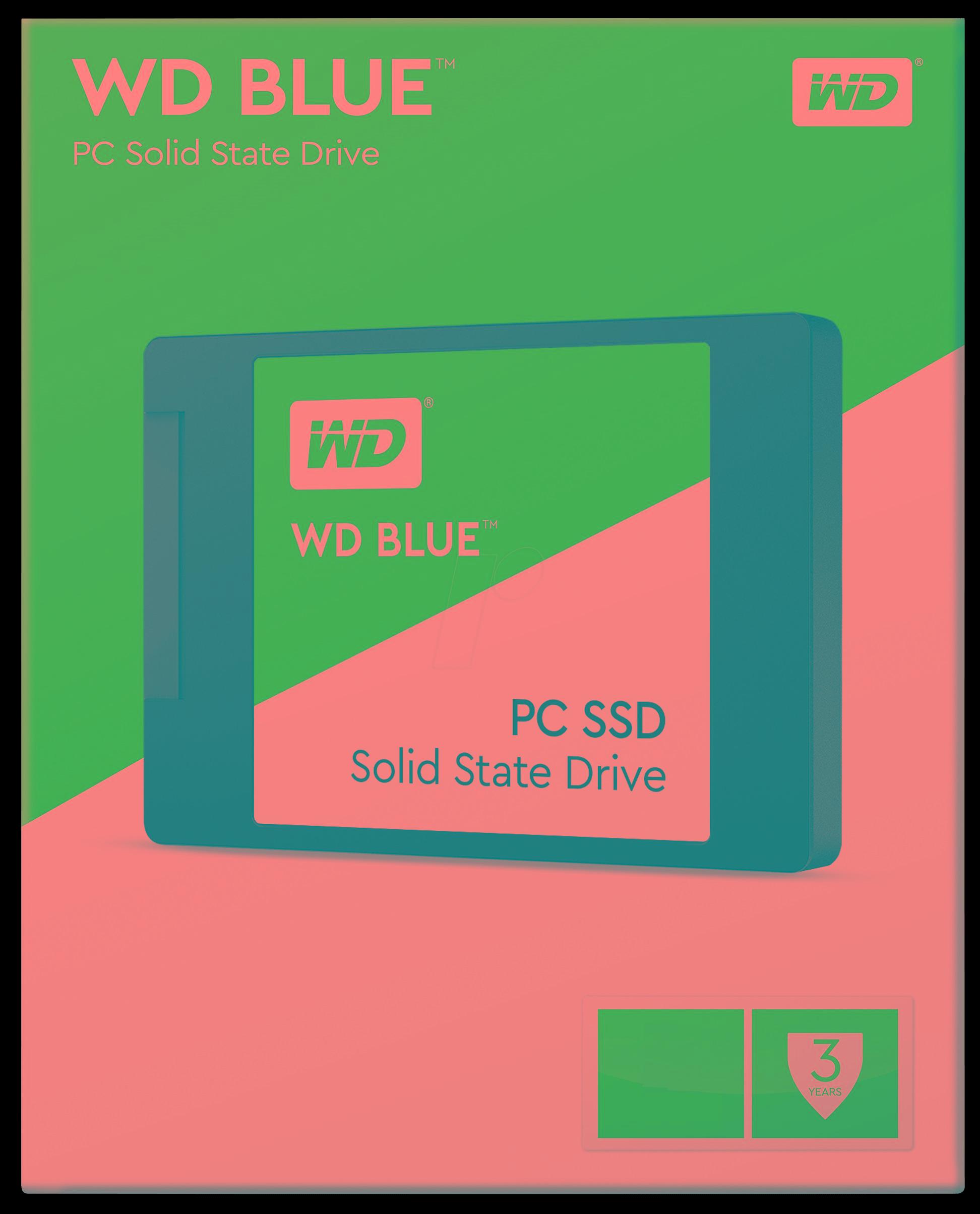 SSD WD Blue 500 GB 2,5'' WDS500G2B0A