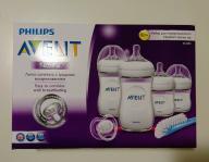 Butelki Philips Avent Zestaw Startowy Natural