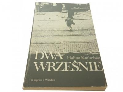 DWA WRZEŚNIE - Halina Krahelska