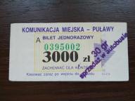 bilet u99 Puławy