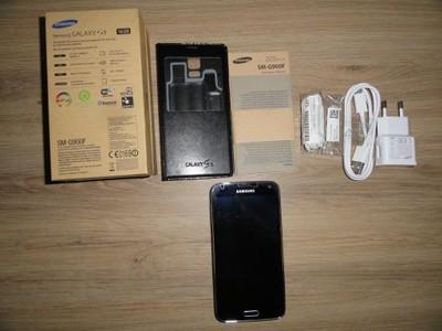 SAMSUNG S5 SM-900F nowe akcesoria stan idealny
