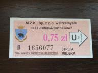 bilet u99 Przemyśl rew. restauracja MARKO