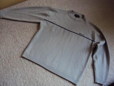 KICKERS sweter welna XL jak  nowy 50% wool welny