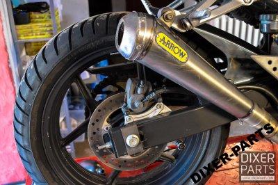 Tłumik wydech Arrow PRO RACE Kawasaki Z750 04-06r