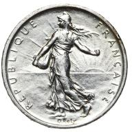 Francja - moneta - 5 Franków 1960 - 3 - SREBRO