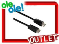 OUTLET!! KABEL  HDMI-HDMI HAMA  22102 5,0 M NOWY !