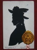 1905 Wycinanka wym.14x9,5cm,A2158
