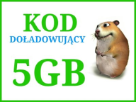 Chomikuj 5GB transferu KOD sms AUTOMAT