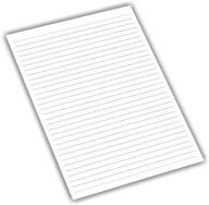 BLOK BIUROWY W LINIĘ A4 biały NOTES 50k 5 szt