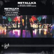 {{{ 3LP METALLICA - S & M wyd.USA! Blackened