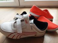 Buty sportowe Puma r. 34 + pomarańczowe tenisówki