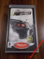 PSP - NEED FOR SPEED PROSTREET - INSTR. PL !