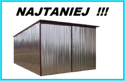 Garaż Blaszany Blaszak Zielona Góra Gorzów Wlkp 5654756511