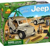 Cobi Jeep Willys MB z działem 24181 - UNIKAT!