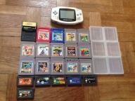 Game boy Advance + 20 oryginalnych gier