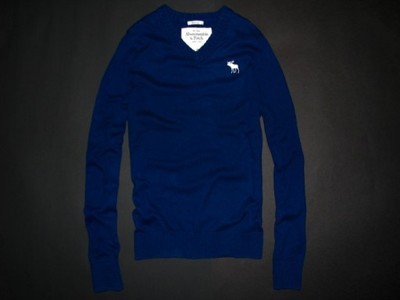 ABERCROMBIE&FITCH sweter LONGSLEEVE MUSCLE - M