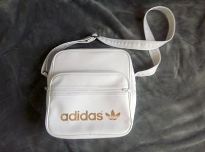 2b2a74b6ed5ae Biała torba Adidas listonoszka - 6895734024 - oficjalne archiwum allegro