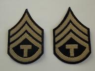 Naszywki US Army sierżant techniczny