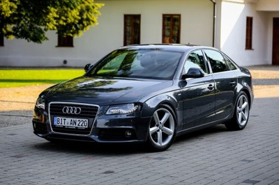 audi a4 b8 sedan 2 0 tdi 143km 2008 s line xenon d. Black Bedroom Furniture Sets. Home Design Ideas