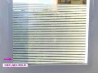 > Folia okienna matowa dekoracyjna Lambert 001