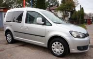 VW Caddy Kombi Comfort Salon PL Pierwszy Wł Serwis