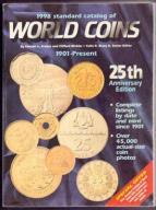 KATALOG KRAUSE WORLD COINS 1901-1998 25th wyd.