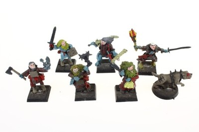 Mordheim Witch Hunter Warband zestaw 7 figurek
