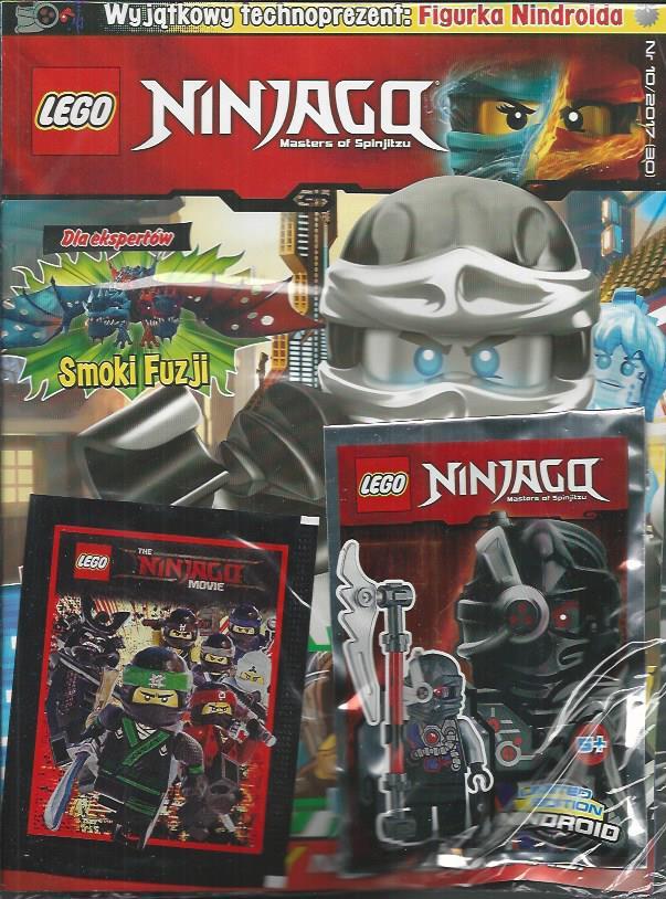 Lego Ninjago Magazyn Nr 1017 Figurka Nindroida 7026267650