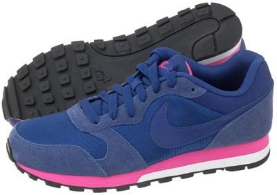 b307eae761f762 Buty Damskie Nike MD Runner 2 749869-446 Granatowe - 6795691689 ...