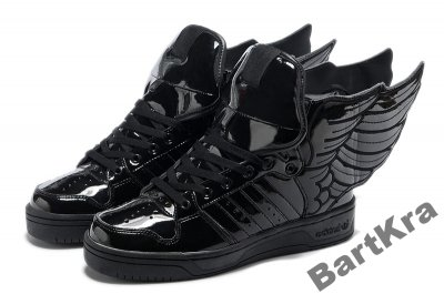 Adidas JEREMY SCOTT Wings 2.0 Black roz 42 NOWE