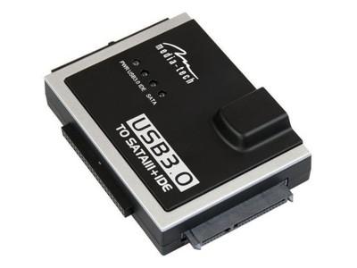 Adapter MediaTech MT5100 SATA/IDE Mostek USB 3.0
