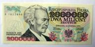 2000000zł 1993r Paderewski seria B