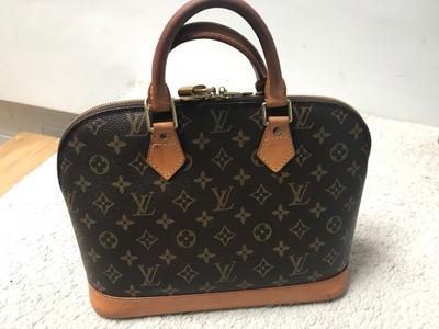 39f0afff502 Oryginalna torebka Louis Vuitton Alma PM monogram - 6823674855 ...