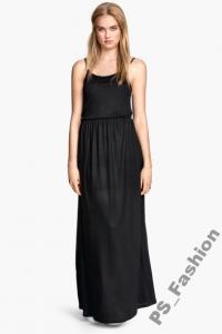 2ec27b4009 H M Sukienka Maxi czarna długa NOWA  S - 6130932511 - oficjalne ...