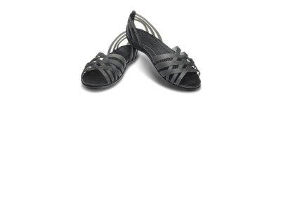 Crocs Huarache Flat Balerinki meliski czarne