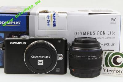 INTERFOTO: Olympus PEN E-PL3 + 14-42 II IDEALNY PL