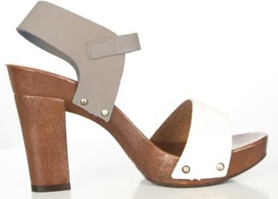 Aktualne VENEZIA sandały drewniaki 36 skóra - 6841600977 - oficjalne VE77
