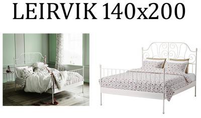 Ikea Leirvik Rama łóżka łóżko 140x200 Cm Hit48h 5970039137